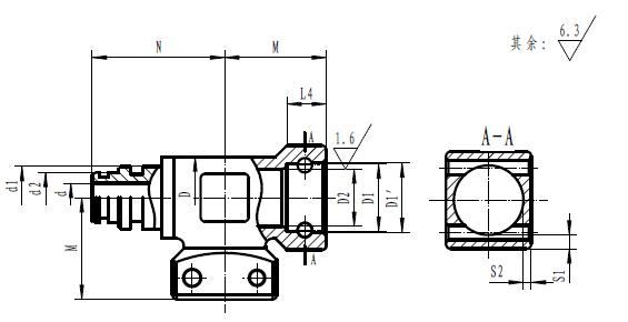 液压支架f型三通图片